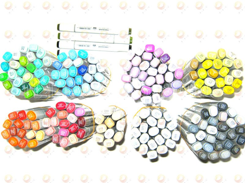 bulk purchasing 192 color finecolour sketch marker wholesale bulk