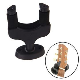 Gitár tartozékok Fali akasztó Rack Hook Könnyen Installfor All Guitar Bass Ukelele Instrument Aroma AH-81