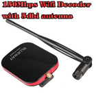USB Lan Card High power WI FI Adapter Long Range USB Wi-Fi antenne 150Mbps 5dbi Wifi Decoder antenne wifi internet free wifi