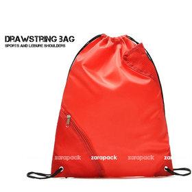 2 pcs Multi Function Water Repellent Sports Yoga Cinch Drawstring Backpack Sport gym Bag STORAGE TRAVEL SHOE BAG