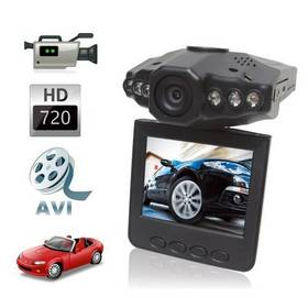 New MIni Audio Recorder 2.5 inch HD LCD 6 IR LED Car DVR Video Rotatable Camera Camcorder