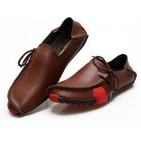 2014 New Fashion men Soft Flat Loafers Shoes Brand Casual Men's Leather Loafers Driving shoes