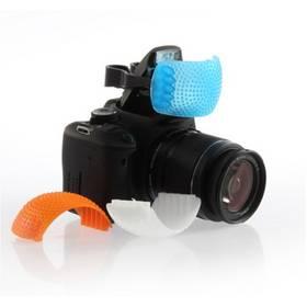 3 Color Pop-Up Flash Diffuser Cover for Canon Nikon Pentax Kodak DSLR SLR Camera