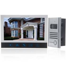 "ACTOP VDP-320+CAM-201 Model 7"" TFT Touchable 5-Wired Camera Video Doorbell White"