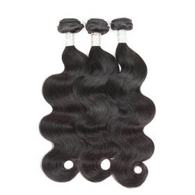 Rebecca 3Pcs/Lot Body Wave Brazilian Virgin Human Hair Weft/Weaves R5