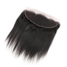 "Brazilian Virgin Hair Lace Frontal Closure Nature Straight 13*4 Closure 10""~22"""