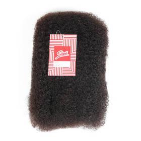 "Brazilian Remy Hair Weft Natural Afro Kinky Bulk Virgin Hair Weaves 10""~22"""