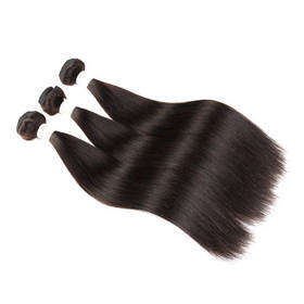 "Malaysian Remy Hair Weft Natural Straight Virgin Hair Weaves 10""~30"""