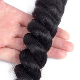 7A Grade Indian Virgin Human Hair Long French Deep Weaving 100g 1pc 8~30 Inch