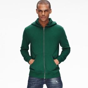 46d153ca5d584b Buy VANCL Gabriel Basic Zip Hoodie (Men) Dark Green SKU 182057 from ...