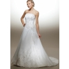 Wholesale - free shipping high quality Ivory embroider satin Wedding bride gown Dress all size color  gy2