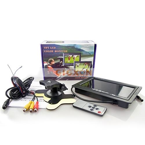 7 0 Inch Portable Car Tft Lcd Color Monitor Gps