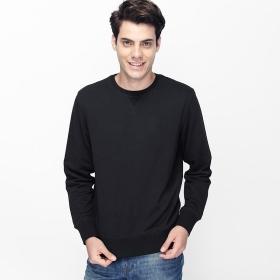 869941fca44414 Buy VANCL Hanford Plain Crew Neck Sweater (Men) Black SKU 180547 ...
