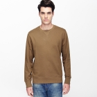 VANCL Hanford Plain Crew Neck Sweater (Men) Earth SKU:180549