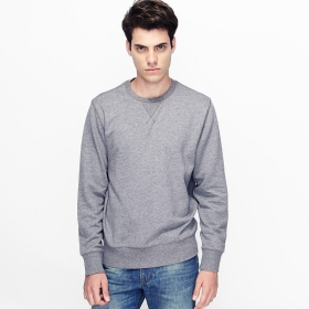 4bc1245d12e90c Buy VANCL Hanford Plain Crew Neck Sweater (Men) Colorful Gray SKU ...