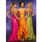 free shipping Wholesale -to-measure Empire Sweetheart Floor Length Satin Evening Dress evening dress  ac107