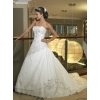 Ball Gown Sweetheart Floor Length wedding dress dresses for brides 2010 style(WDA0036)q49
