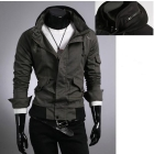 Wholesale - men's autumn winter overcoat jacket; dress garment cotton coat clothes clothing jacket outerwear