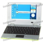 "7"" TFT LCD Windows CE 6.0 VIA8650 CPU WiFi UMPC Netbook - Green (349.79MHz/2GB/3xUSB/SD/LAN)"