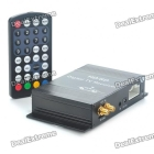 DVB-T2 Dual Tuner Digital Car TV Receiver Box w/ Antenna (12V)