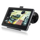 HD 7 Inch Car Navigator GPS , Fm transimitter window CE