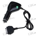 """Car Charger Full Range FM Transmitter with 0.7"""" LCD Display for All /iPhone 2G/3G"""