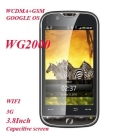 3.8 Inch Capacitive Multi- WG2000 GSM+ WCDMA 3G Dual SIM Android 2.2 Smart Phone with WIFI GPS