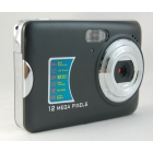 "FREE SHIPPING NEW 12.0 MP 2.7""TFT LCD DIGITAL Anti-shake CAMERA Black"