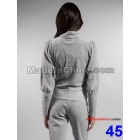 FREE SHIPPING Brand New Velours fashion long Sleeve Sweat suit brand Tracksuit woman's sport suits 04dre