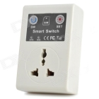 GSM Cell Phone Remote Control Power Switch w/ Universal Socket (AC 110~220V / 3-Flat-Pin Plug)