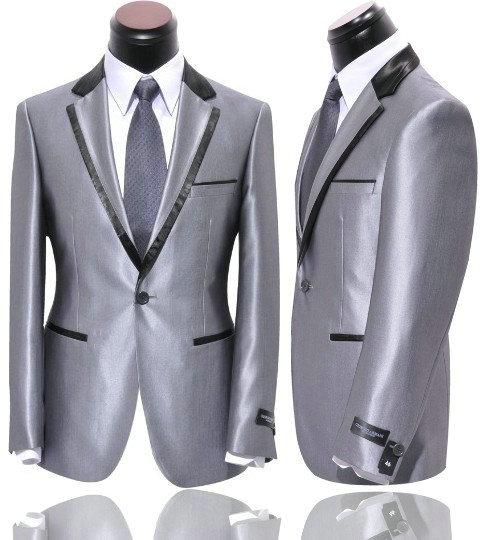 sølv jakkesæt