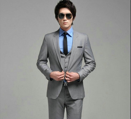 Mens Silver Suits For Weddings Silver Suit Suit Wedding