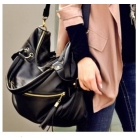 HOT Sale Free Shipping Western Style Rivet Tassel Decorated Messenger Bag ZX12041110
