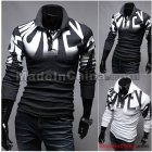 Wholesale - HOT new arrive Slim Letters printed men's t shirts men's clothing men's shirts 2392