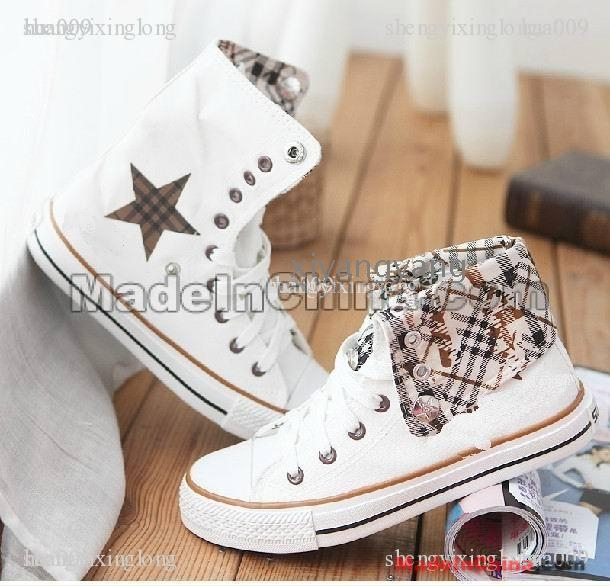 f02fa697f2b9dd 2012 Couple shoes canvas shoes Girls School to – Wholesale 2012 ...