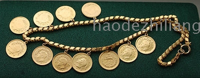 IRAN PERSIA GOLD NECKL...