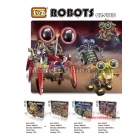 Intelligence toys ox-eyed robots Electric educational SPIDER Motor driven assemble A0018  Freeshipping