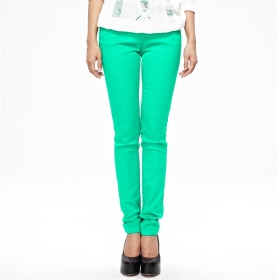 light green pants women - Pi Pants