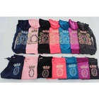 Free shipping !~Juice velvet set embroidery rhinestones spring and autumn Women sports casual set Multi Colors size:S~XL