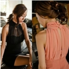 Free shipping Package hip dress 2013 fashion dress korean clothes party sexy Slim chiffon western dresses 6868 women's dresses
