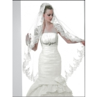 wedding apparel & accessories>> Beautiful Embroider Applique wedding  Veils