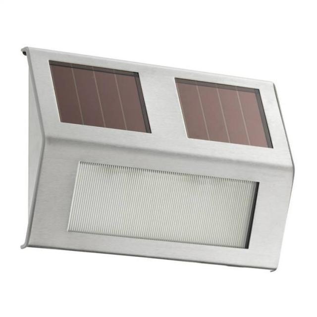 Napelemes LED kerti világítás LED Otthon Lépcső útvonal Deck Fekvő ...