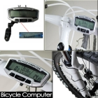 LCD Bicycle Bike Computer Odometer SD558 Speedometer Free Shipping