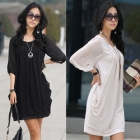 NEW women Sexy summer 6628 # 2012 new large size dress chiffon skirt tops