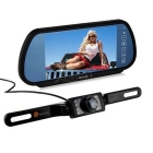 7 inch Car Rearview Monitor With Wireless Reverse camera 2-Way AV Input support car DVD