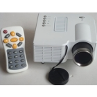 "60"" Portable Mini HD LED Projector Cinema Home Theater Support PC Laptop VGA input/ SD Card/AV INPUT/USB Input"