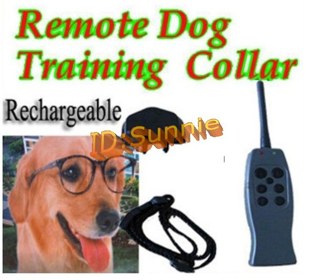 no bark collar instructions