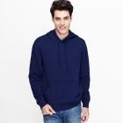 VANCL Paolo Plain Pullover Hoodie (Men) Navy Blue SKU:180513