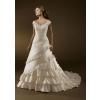 Ball Gown Sweetheart Floor Length Satin wedding dress for brides 2010 style(WDA0036) fgh