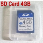 Free Shipping 10pcs/lot Brand New Neutral SD card 4GB SD 4G SD Memory Card Wholesale